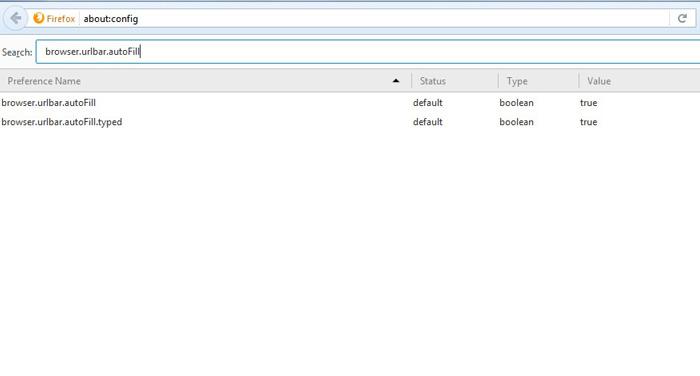 غیرفعال کردن AutoComplete در فایرفاکس