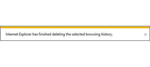 حذف history در اینترنت اکسپلورر