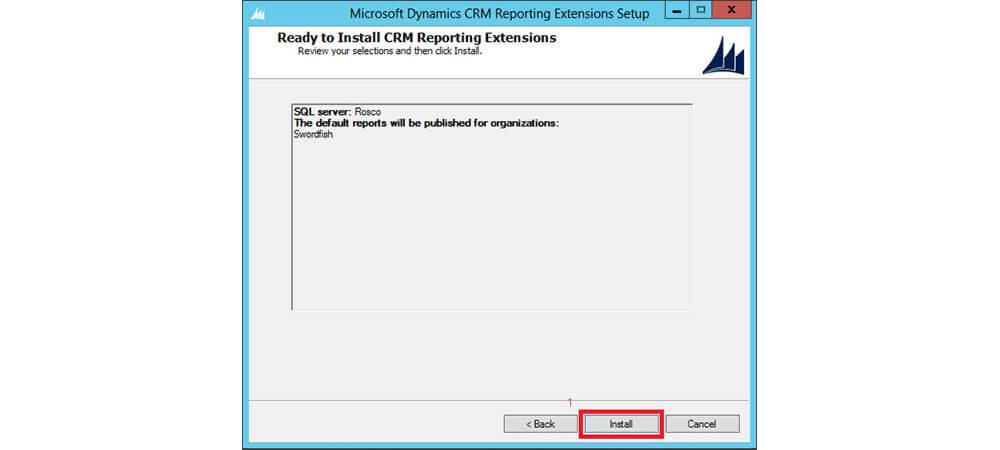 نصب reporting extension