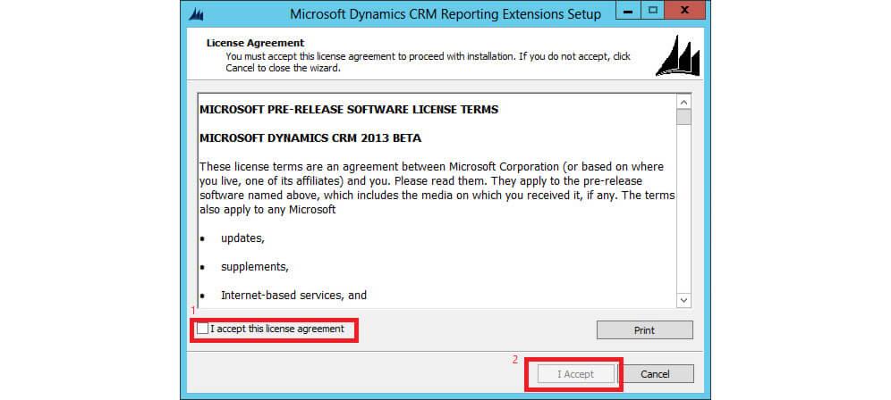 لایسنس نصب reporting extension
