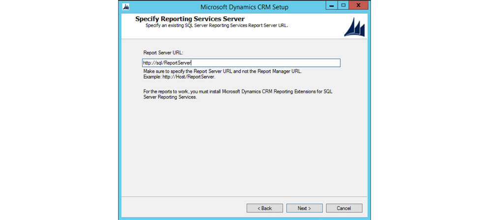 ریپورت سرویس SQL در MSCRM