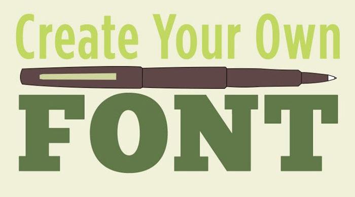 با Illustrator فونت مورد علاقه خود را طراحی کنید