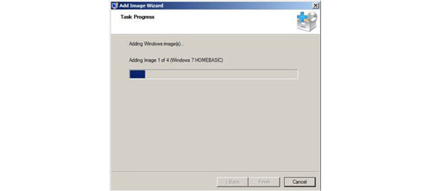 افزودن ایمیج سیستم عامل ویندوز7